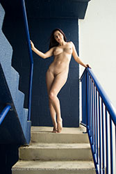 cheyanne blue stairs