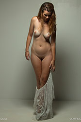 dannii fashionably nude