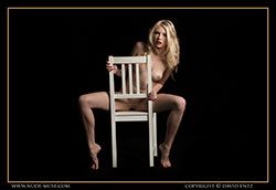 freya white chair video