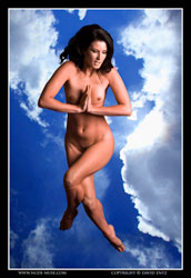 kathleen leaping for the sky