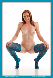 lech snake skin stockings