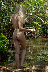 millie nude by pond