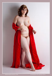 mystery red satin cloth