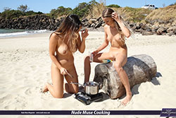 nude muse cooking season06 episode13 scarlett-morgan and elly
