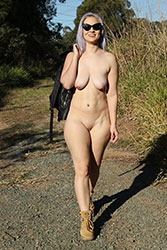 tibbi nude walk video