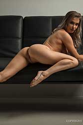 tiffani nude on couch