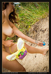scarlett-morgan easter egg hunt