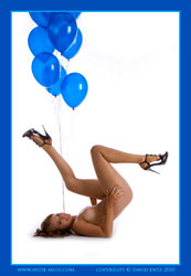 stacey blue balloons